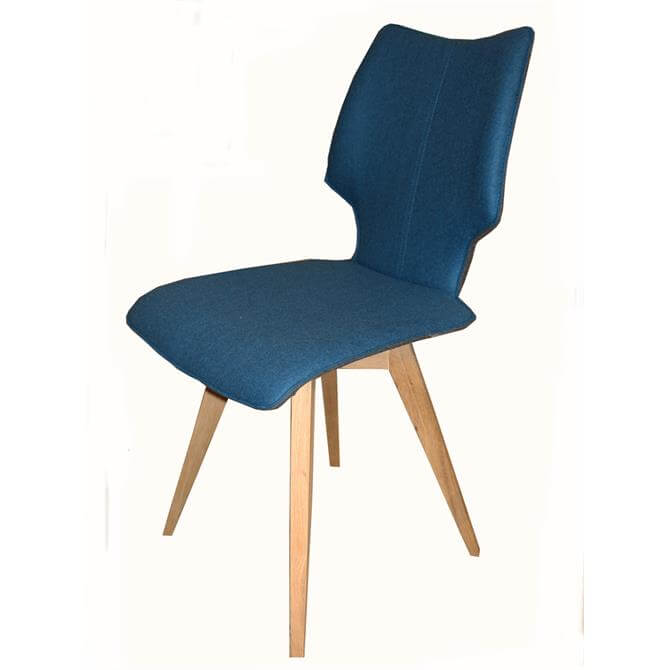 Skalo Chair in Petrol Fabric