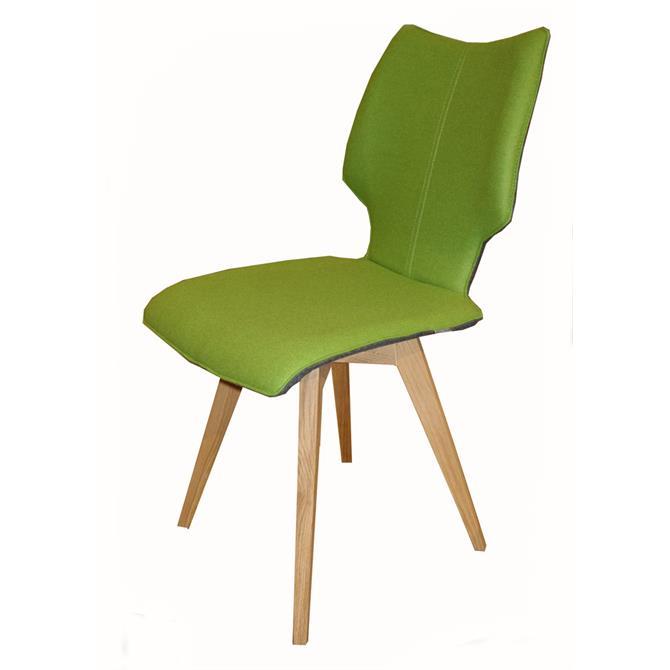 Skalo Chair in Pistachio Fabric