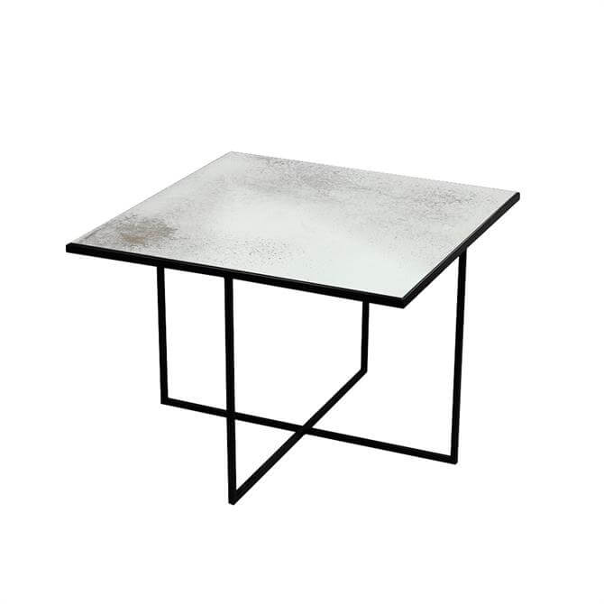 Surface Coffee Table with Metallic Bronze Aged Mirror 60cm