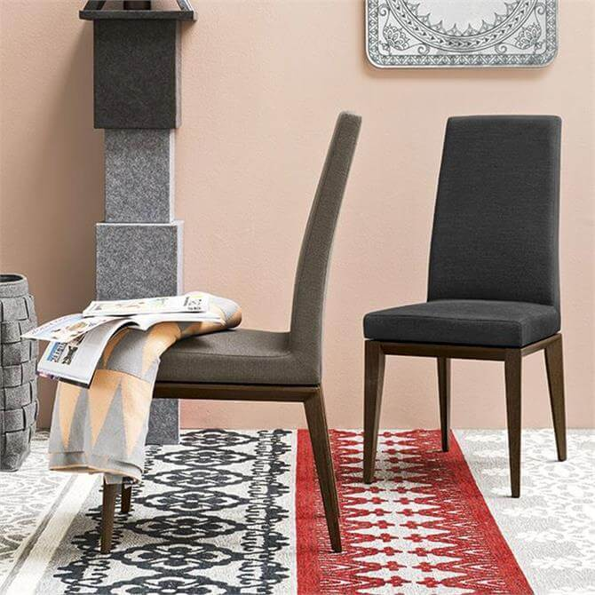 Calligaris Bess High Backed Dining Chair