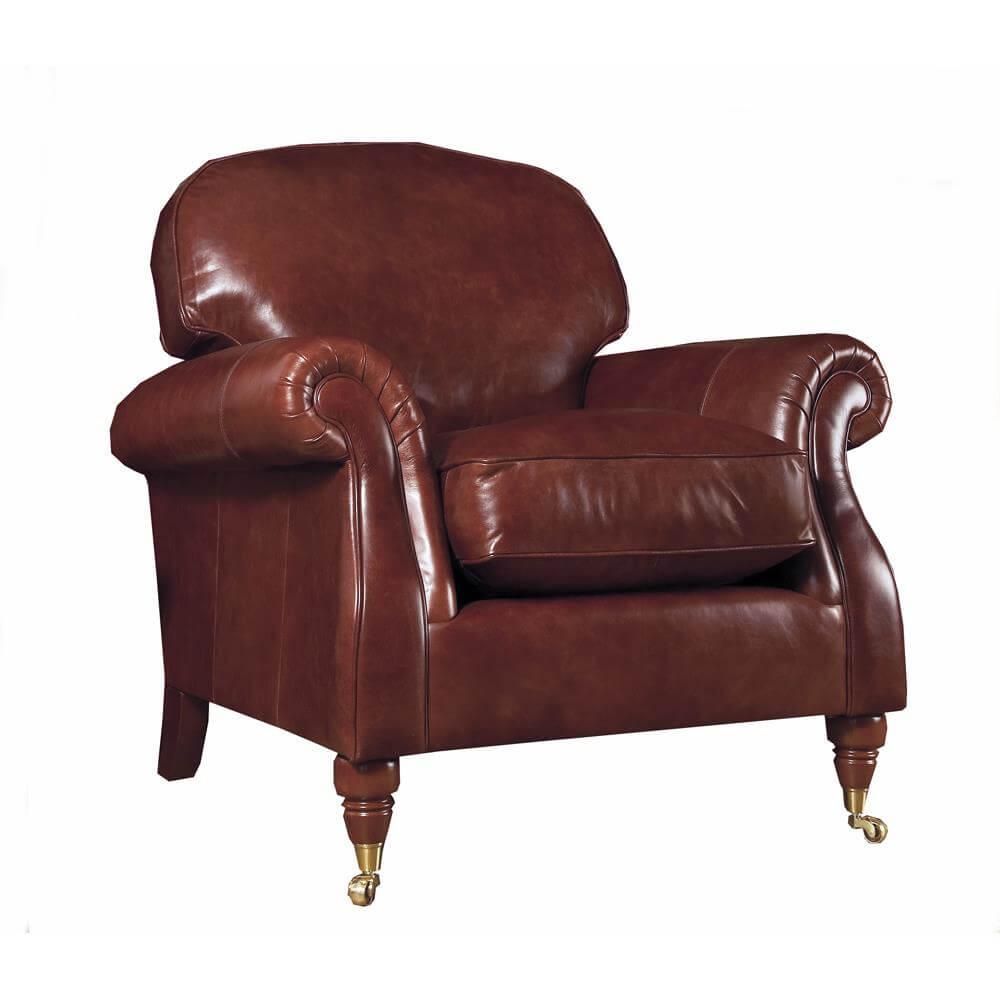 Parker Knoll Westbury Armchair in Leather | Jarrold, Norwich