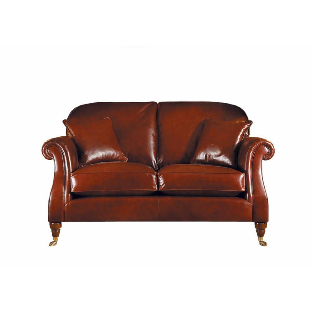 Parker Knoll Westbury Small Sofa In Leather Jarrold Norwich