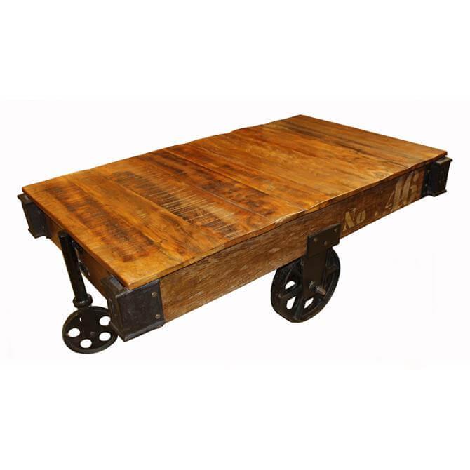 Boashut Cart Coffee Table