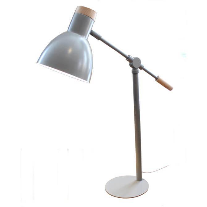 Newlyn Adjustable Grey Table Lamp