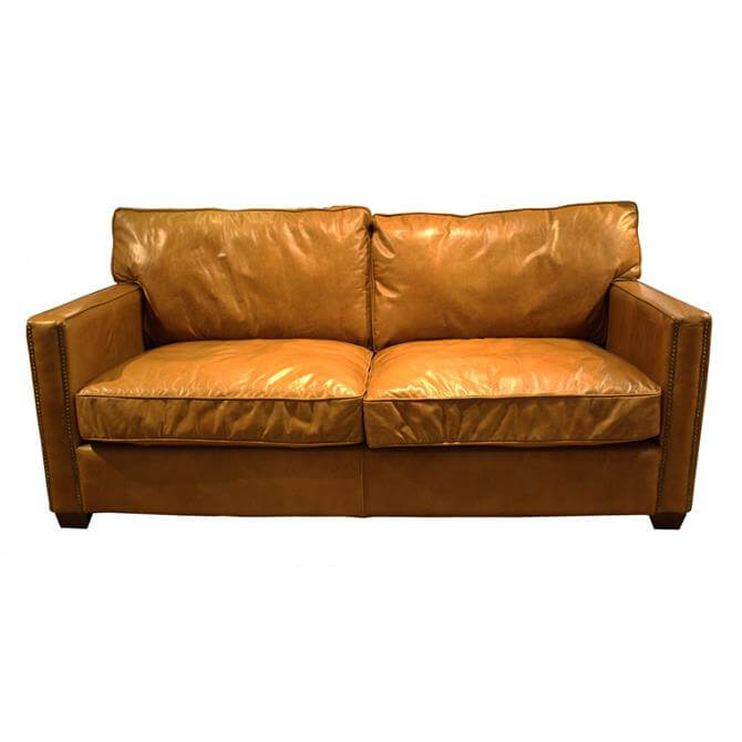 Brunel Three Seater Sofa in Riders Nut