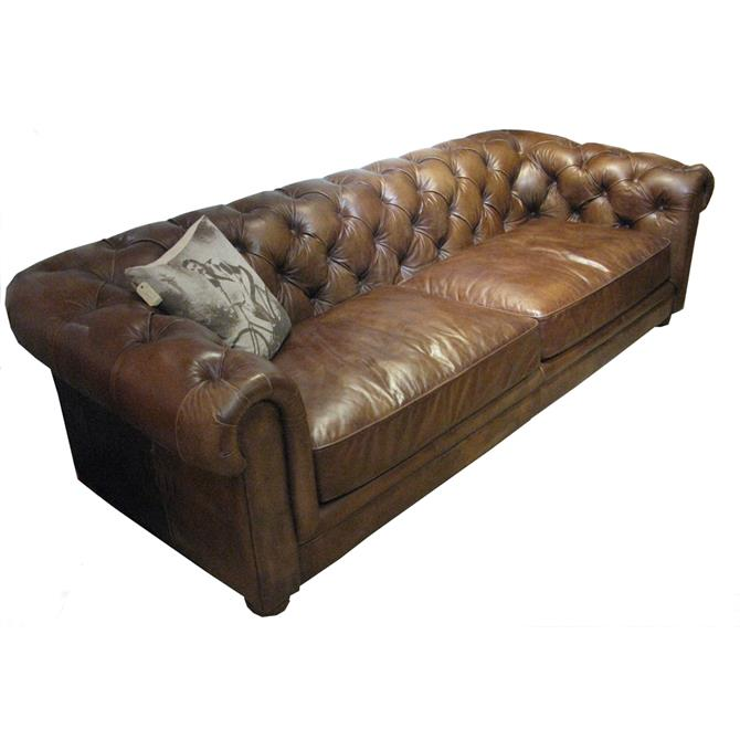 Nelson 2.5 Seater Sofa in A Selection of Leathers
