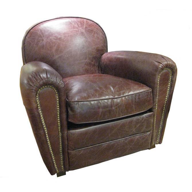 Livingstone Chair in Biker Tan