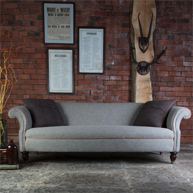 Harris Tweed Bowmore Grand Sofa