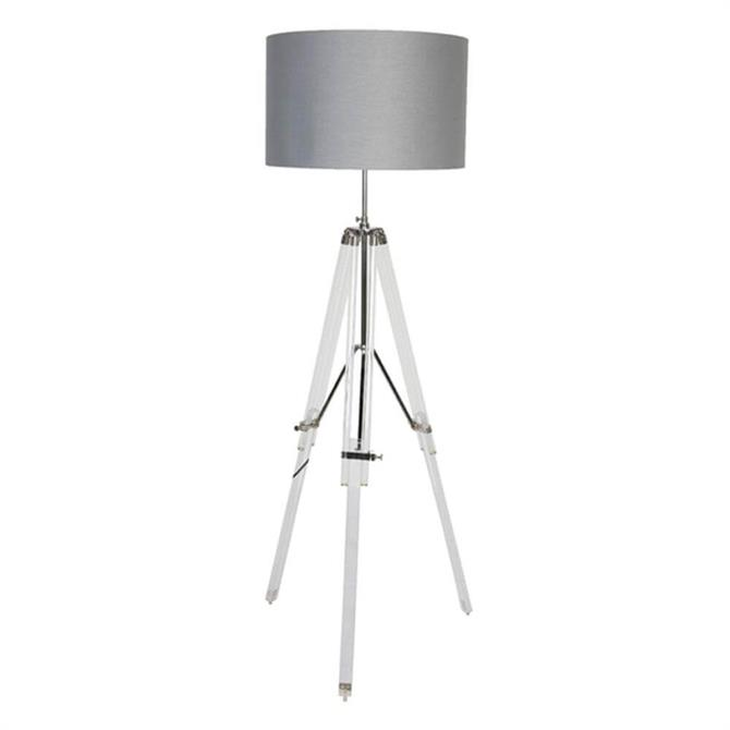 Culinary Concepts Acrylic Tripod Floor Lamp