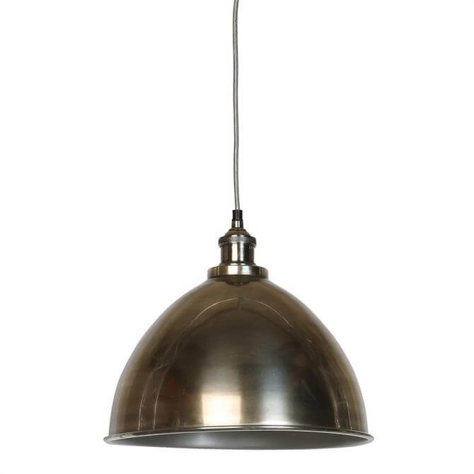 Culinary Concepts Large Antique Silver Dome and Fitment