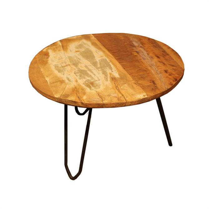Eastern Inspired Small Circular Nest Table