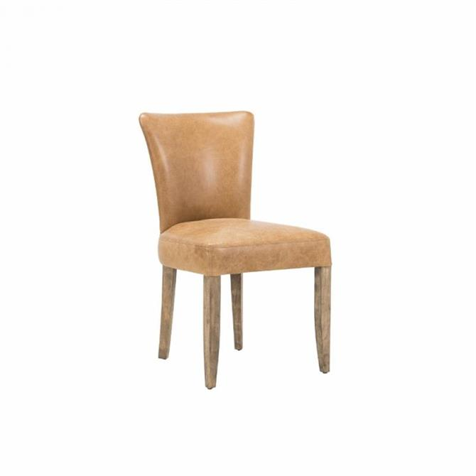 Franklin Dining Chair in Pampas Nutmeg