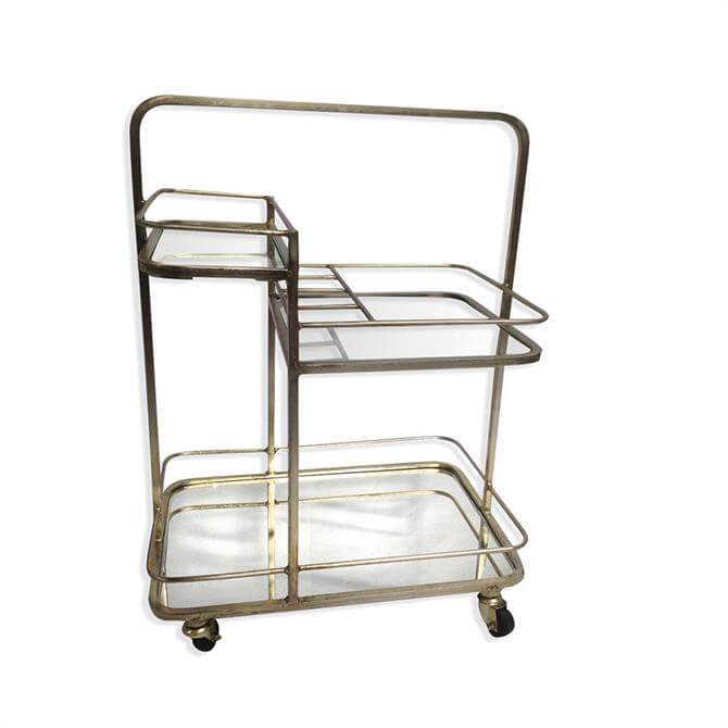 Culinary Concepts Lanesborough Three Tier Drinks Trolley
