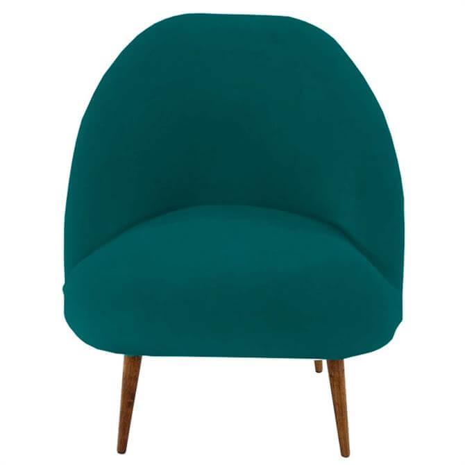 Soho Velvet Jade Green Chair