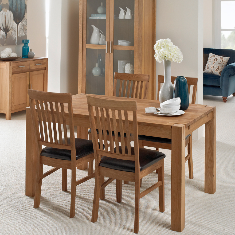 Westminster Dining Table Four Dining Chairs Jarrold Norwich