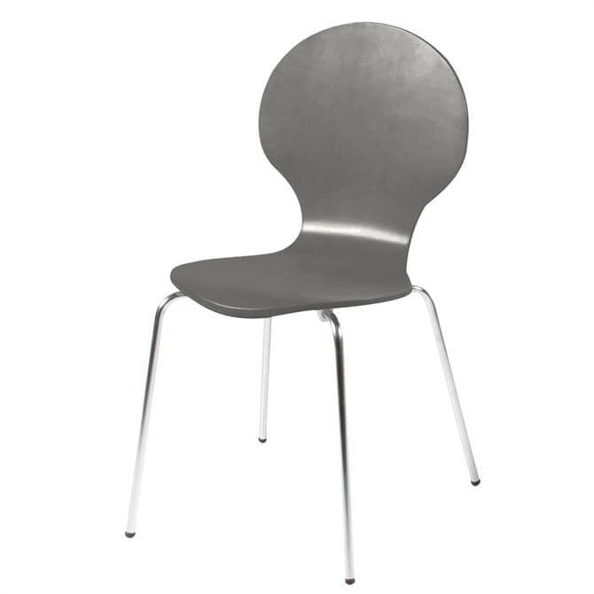 Bugatti Grey Dining Chair