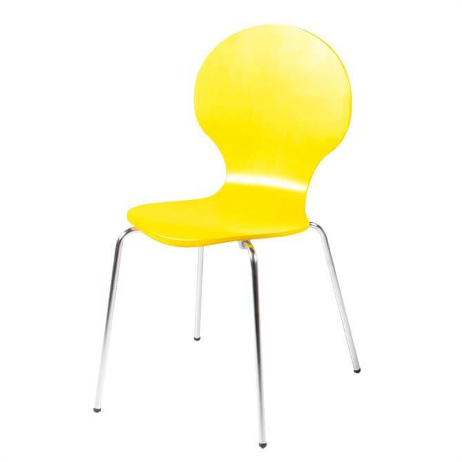 Bugatti Yellow Dining Chair