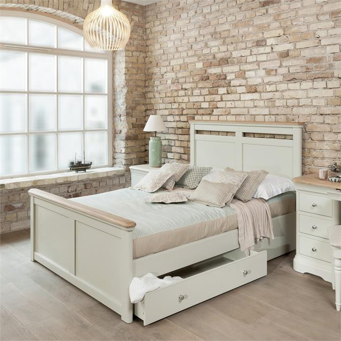 Cromwell 135cm Bedstead With Storage Drawers