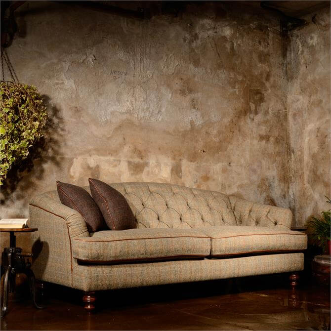 Tetrad Dalmore Midi Sofa in Option A Harris Tweed