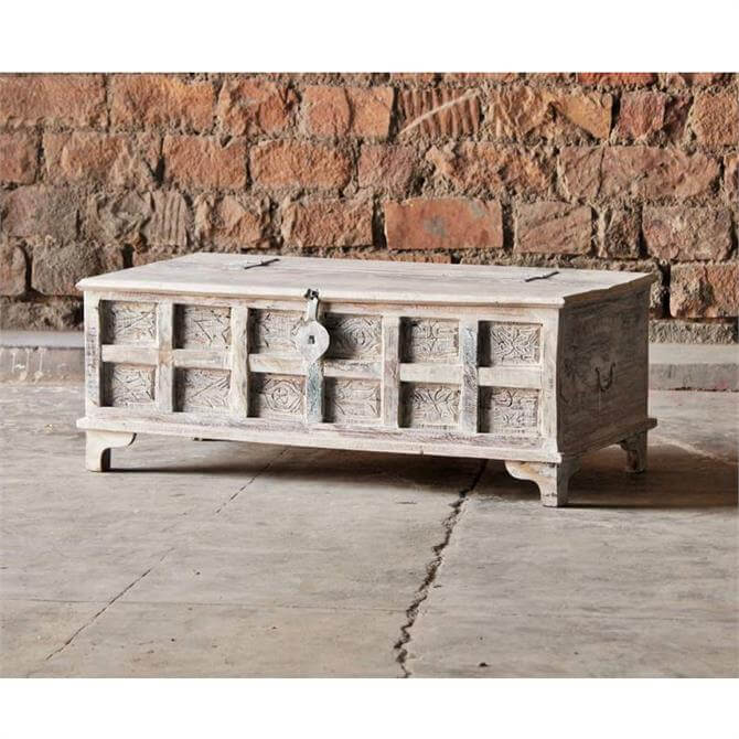 Eastern Inspired Trunk Box Coffee Table