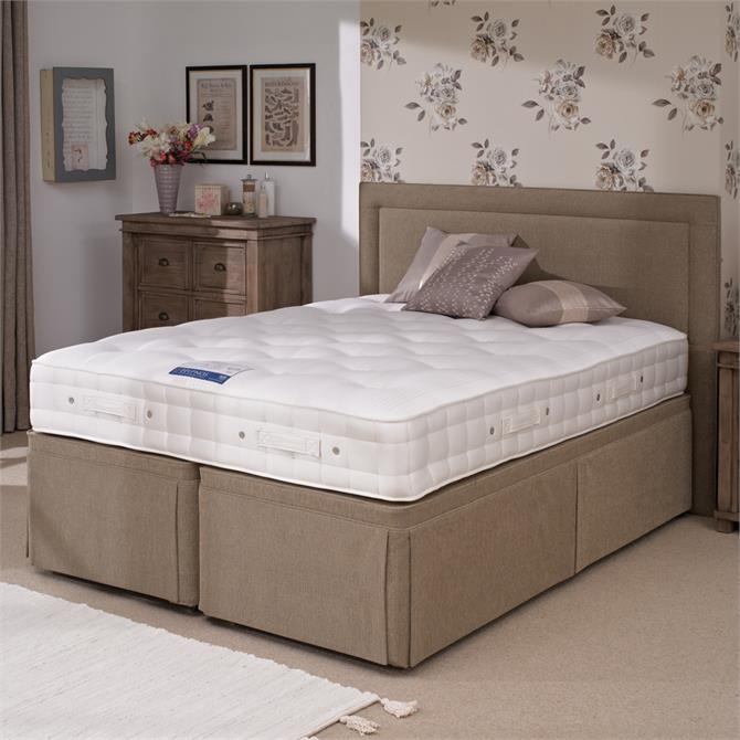 Hypnos King Sized Orthocare 6 Hideaway Divan Set