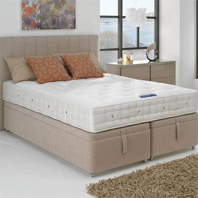 Hypnos Super King Sized Orthocare 8 Platform Top Drawer Divan Set