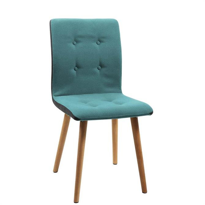 Morgana Dining Chair in Petrol