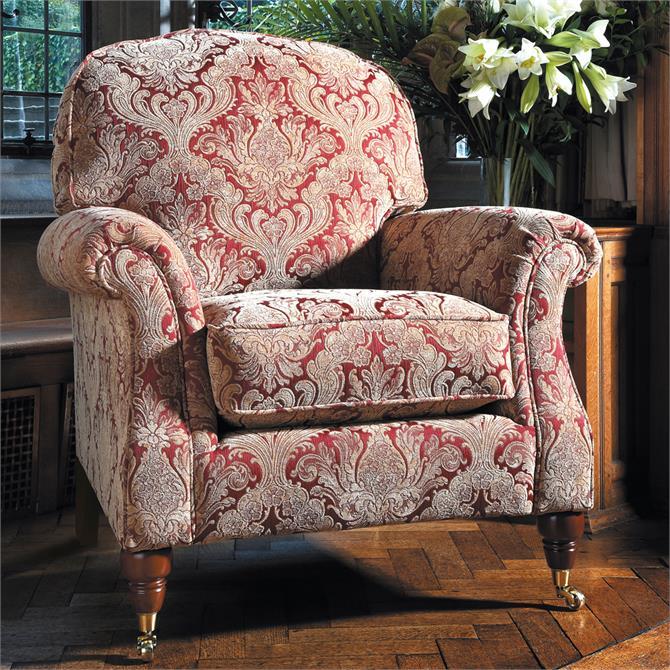Parker Knoll Westbury Master Armchair in C Range Fabric