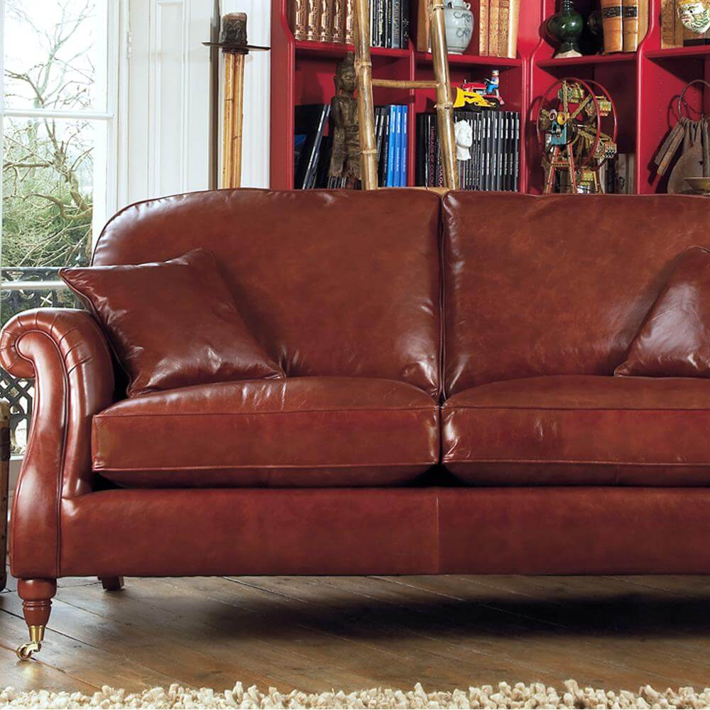 Cool Parker Knoll Westbury Grand Sofa In Leather Machost Co Dining Chair Design Ideas Machostcouk