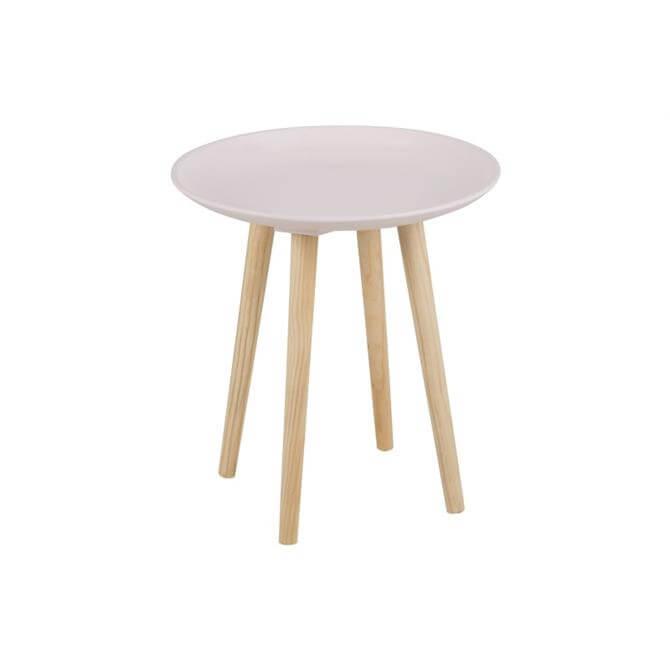 Matra Lamp Table In Rosa