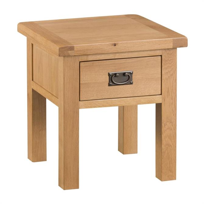 Marchesi Lamp Table With Drawer