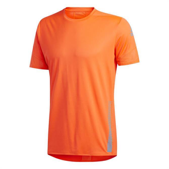 Adidas Own The Run Men's T-Shirt - Orange