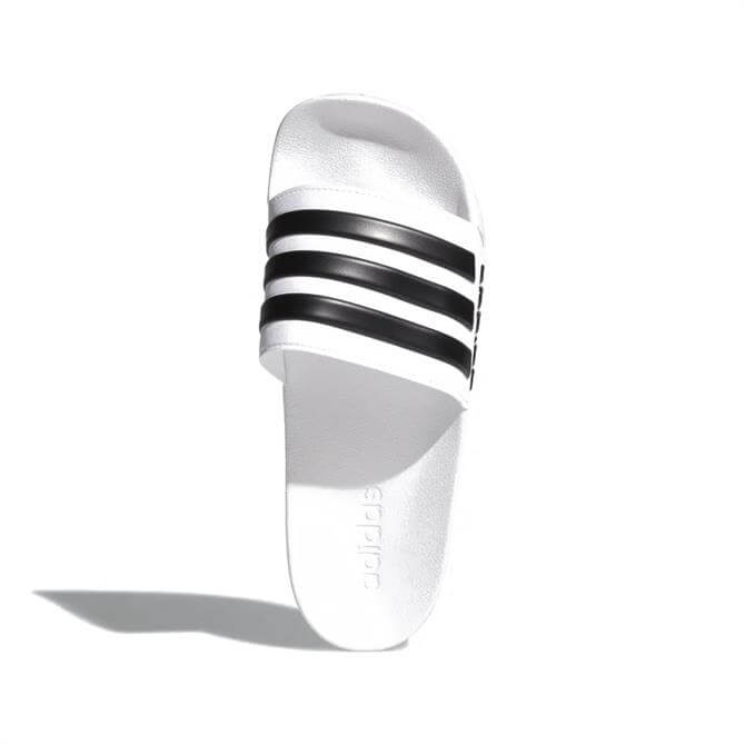 Adidas Adilette Cloudfoam Slides - White