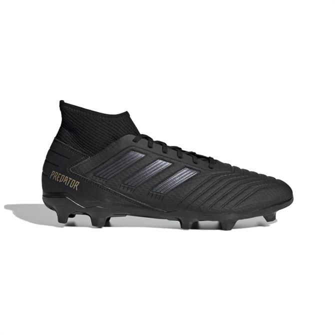 Adidas Predator 19.3 FG Football Boots - Black/Black