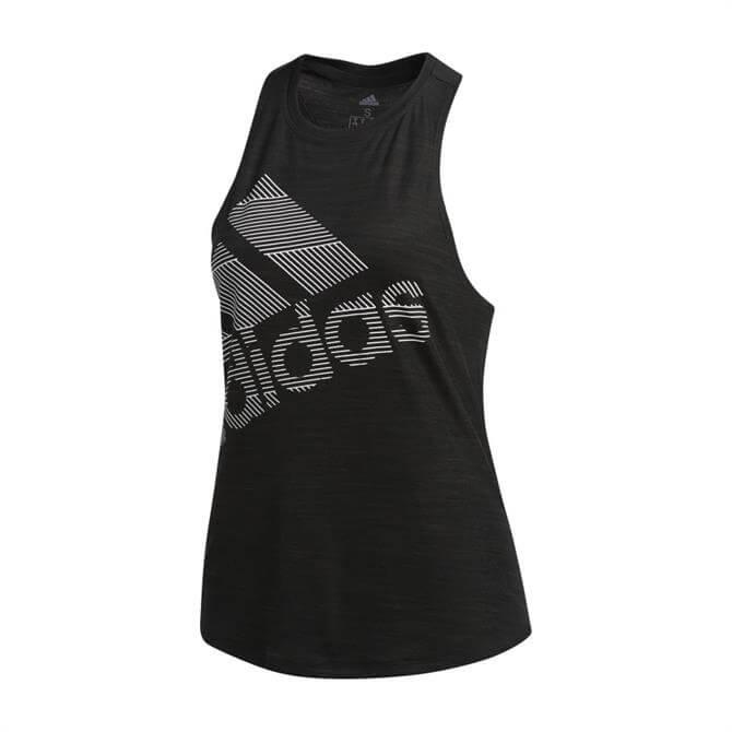 Adidas Badge of Sport Women's Logo Tank - Black