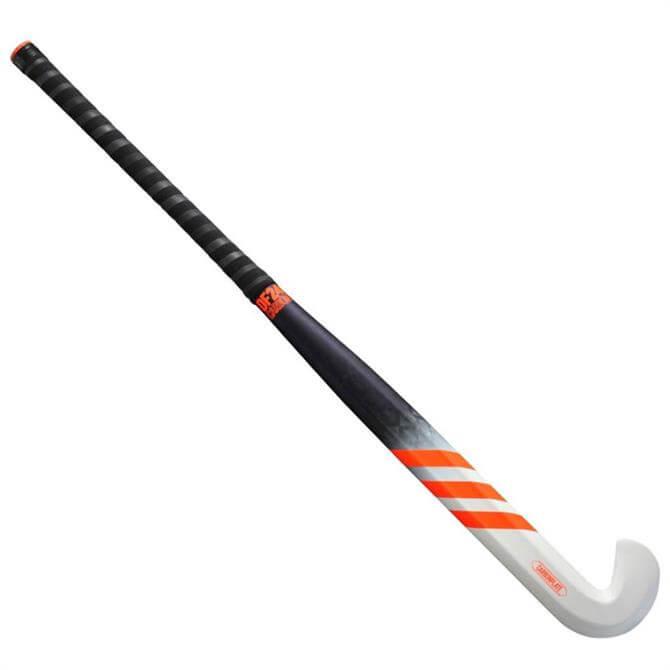Adidas DF24 Carbon Hockey Stick - White/Orange/Grey