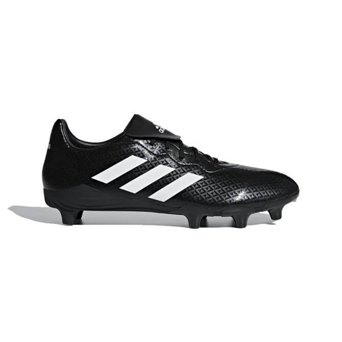 Adidas Engage Rugby Boots - Black/White