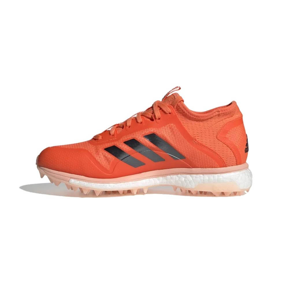 new concept c53e0 569ea Adidas Fabela X Empower Women's Hockey Shoe - Orange