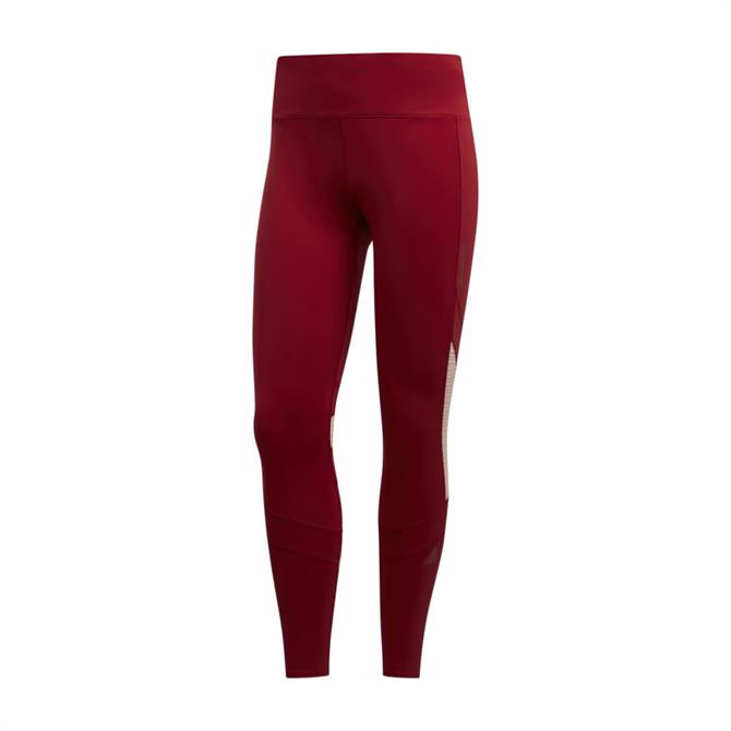 Adidas How We Do Women's 7/8 Light Leggings - Red