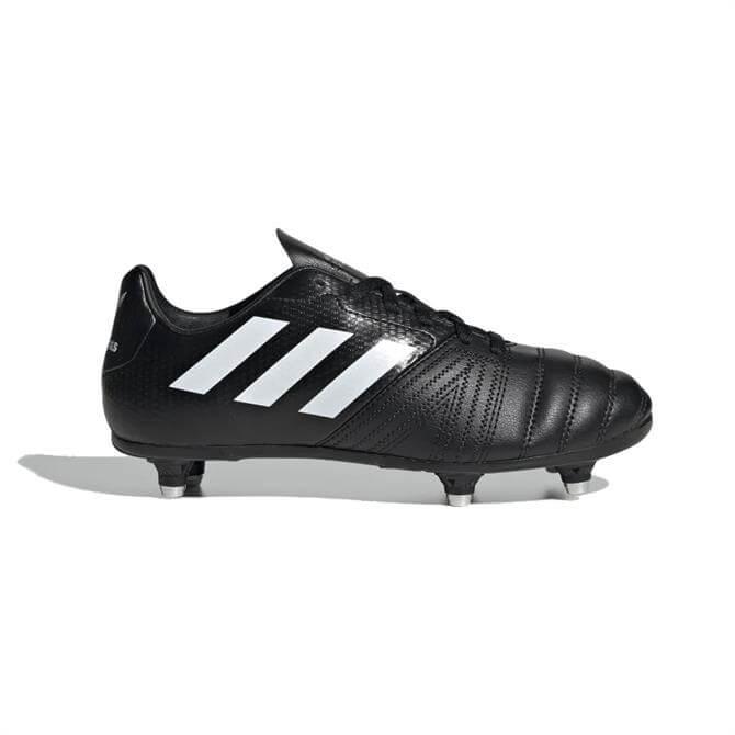 Adidas Junior All Blacks Soft Ground Rugby Boots - Black