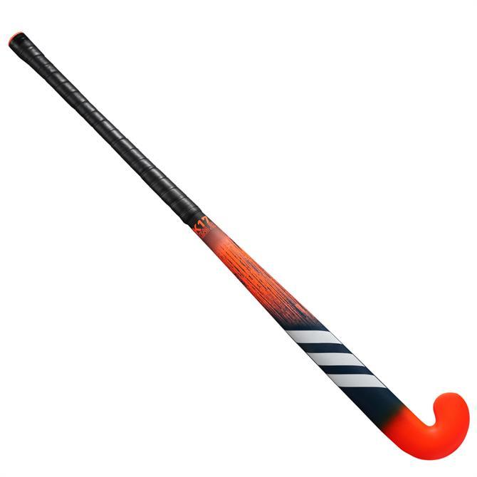 Adidas K17 King Junior Hockey Stick - Orange/Black