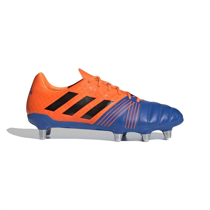 Adidas Kakari Soft Ground Rugby Boots - Blue/Orange