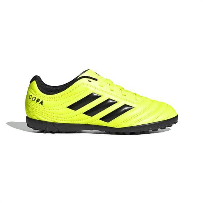 Adidas Kid's Copa 19.4 TF Football Boot - Solar Yellow