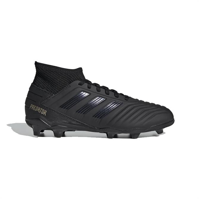Adidas Kid's Predator 19.3 FG Football Boots - Core Black