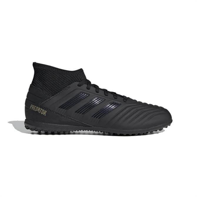Adidas Kid's Predator Tango 19.3 TF Football Boots - Core Black