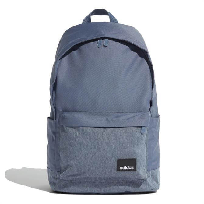 Adidas Linear Classic Casual Sports Backpack - Navy/White