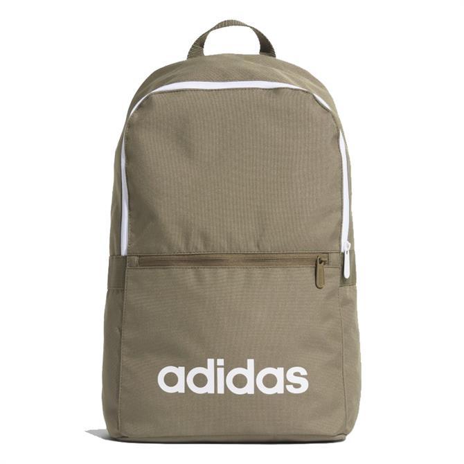 Adidas Linear Classic Daily Backpack - Khaki