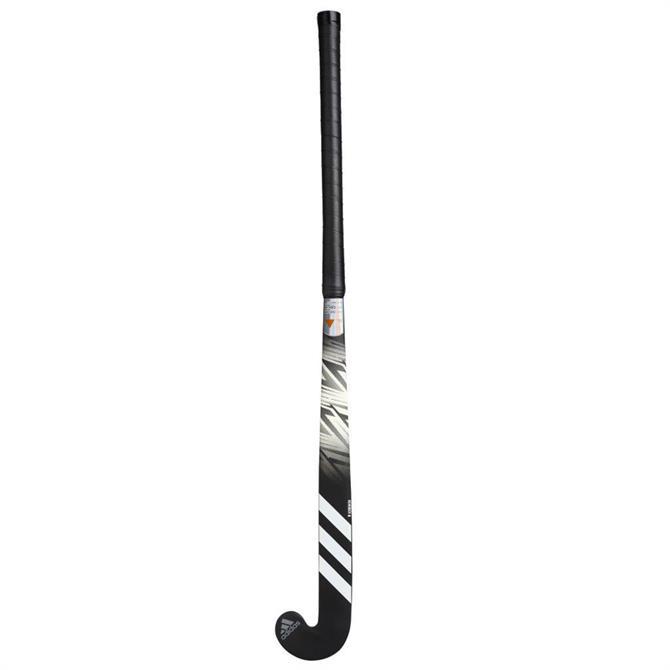 Adidas LX24 Core 7 Wooden Hockey Stick - Black/White/Grey