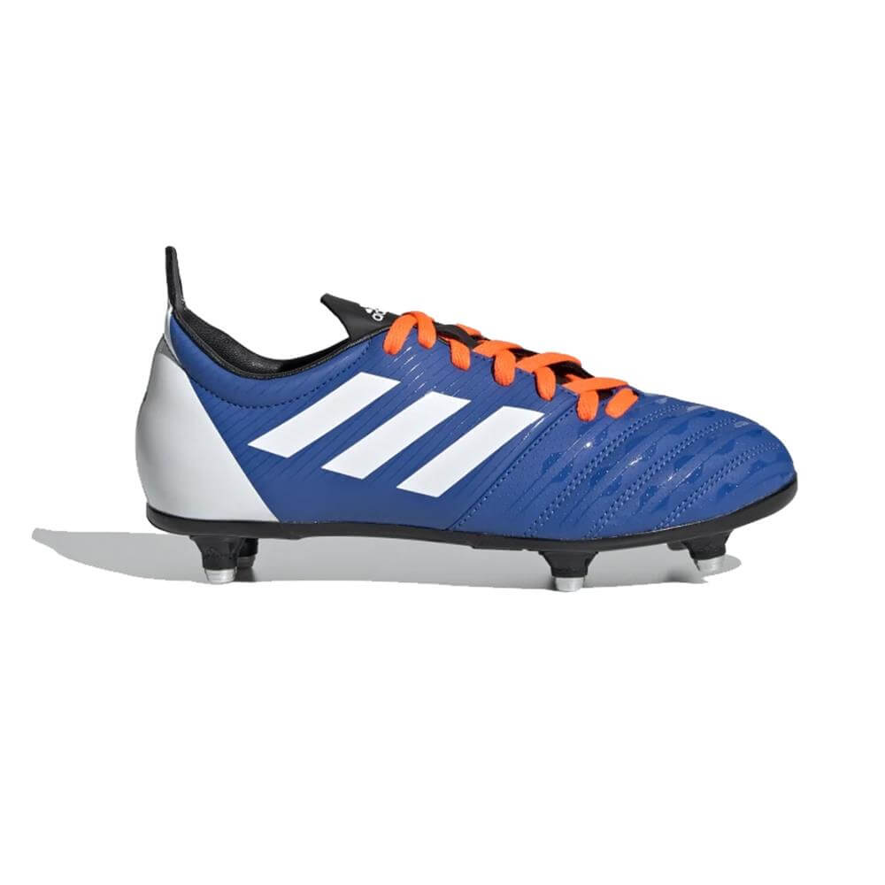 9788d35bf32 Adidas Junior Malice Soft Ground Rugby Boots - Blue