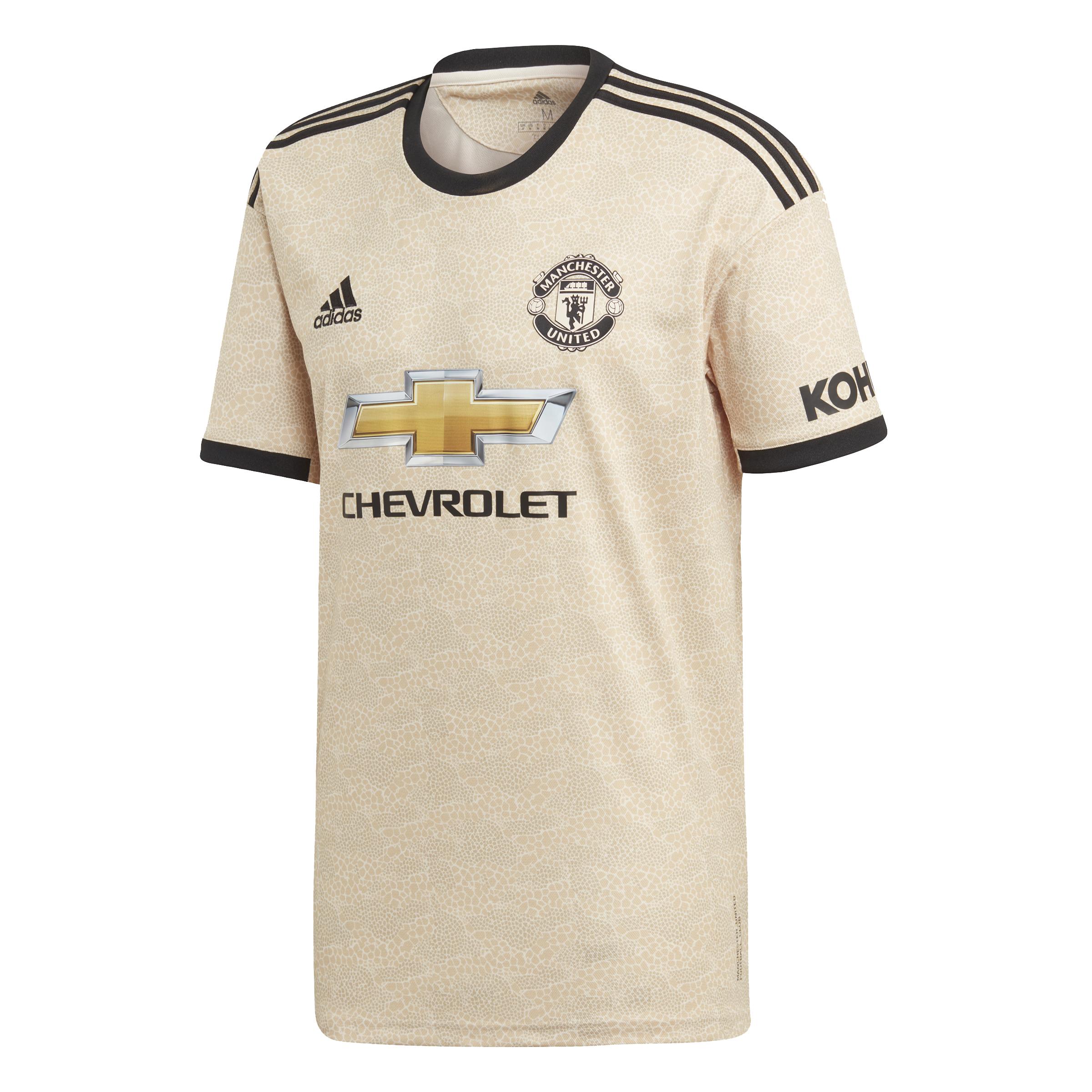 grand choix de c0dfd c64a0 Adidas Manchester United Adult's Away Shirt 2019-20